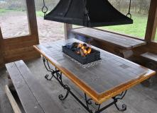 Новый гриль-стол для прямоугольных беседок и террас